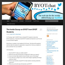 #BYOTchat | A web site for the #BYOTchat twitter chat