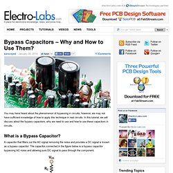 Bypass Capacitors – Why and How to Use Them? » Electro-Labs.com