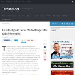 How to Bypass Social Media Dangers for Kids: Infographic