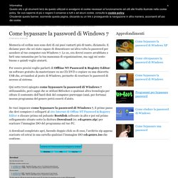 Come bypassare la password di Windows 7