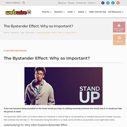 The Bystander Effect: Why it matters for beating cyberbullying
