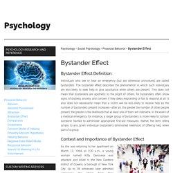 Bystander Effect - IResearchNet