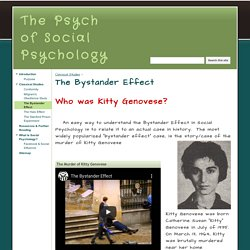 The Bystander Effect - The Psych of Social Psychology