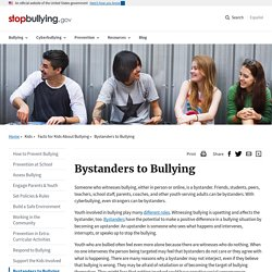 Bystanders to Bullying
