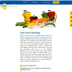 Less Food Wastage