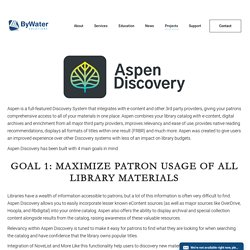 Aspen Discovery (Open Source)