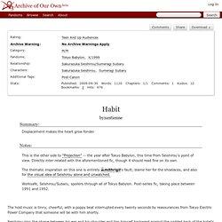 Habit - Lindensphinx - Tokyo Babylon, X/1999