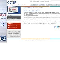 C.C.i.J.P. : Observatoires des métiers