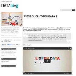 C'est quoi l'Open Data ?