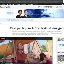 France 3 : C'est parti pour le 70e Festival d'Avignon