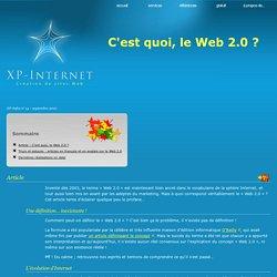 C'est quoi, le Web 2.0 ?