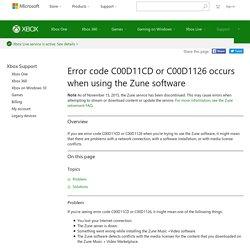 Software and Installation Error