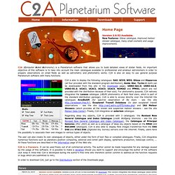 C2A - Planetarium Software