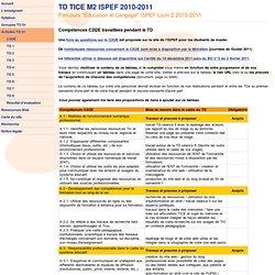 Guide du C2I2E + TD - ISPEF Lyon (2010-2011)