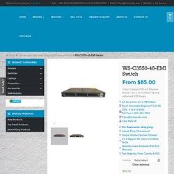 WS-C3550-48-EMI buy used new cisco 3550 switch Toronto Canada