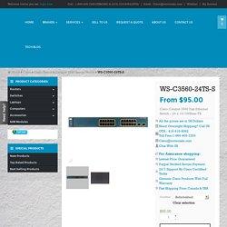 ws c3560 24ts s buy used new cisco catalyst ws-c3560-24ts-s
