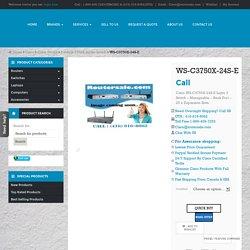 ws c3750x 24s e buy used new cisco ws-c3750x-24s-e switch Canada