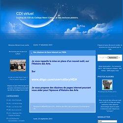 (C4) - Histoire des Arts : CDI virtuel