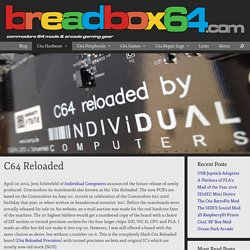 C64 Reloaded – breadbox64.com