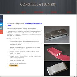 c88 Triple Pen Pocket Carrier