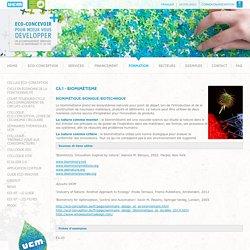 CA.1 - Biomimétisme
