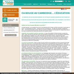 Ca bouge au Cambodge… l'éducation