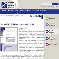 Les CAARUD : évolutions récentes (2014-2018) / OFDT, janvier 2021