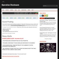 Cabal ~ Operation Disclosure