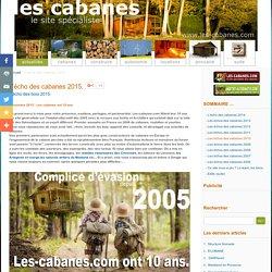 LES CABANES / le site grand public des cabanes et de l'habitat insolite en France.