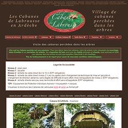 visite des Cabanes perchées dans les arbres - Cabanes de Labrous