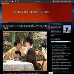 Le cabaret du père Lathuille. Avenue de Clichy.