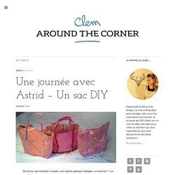 Tuto sac DIY cabat couture Vanessa Bruno DIY - Clem AT Corner
