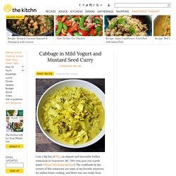 Cabbage in Mild Yogurt and Mustard Seed Curry — Cookbook Recipe