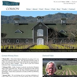 CORISON WINERY - Napa Valley Cabernet Sauvignon - Home Page