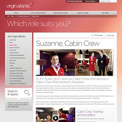 Cabin Crew Jobs with Virgin Atlantic
