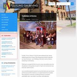Cabines à livres - Folkling Gaubiving
