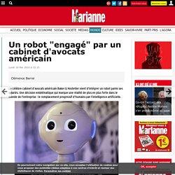 """Un robot """"engagé"""" par un cabinet d'avocats américain"""
