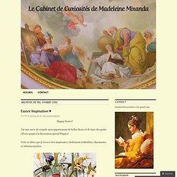 Le Cabinet de Curiosités de Madeleine Miranda