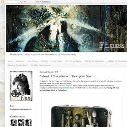 Finnabair: Cabinet of Curiosities or... Steampunk Deer