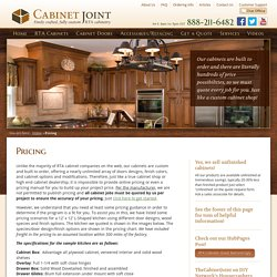 Buy Cabinet Doors at a Great Price - The Cabinet Joint