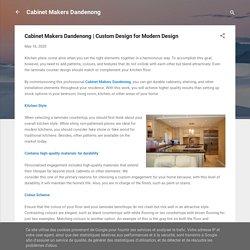 Custom Design for Modern Design