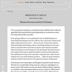 Mengele's Skull