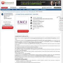 Le Cabinet d'Outplacement EMCI - Paris 8ème - PARIS 08EME ARR sur ICI Formation