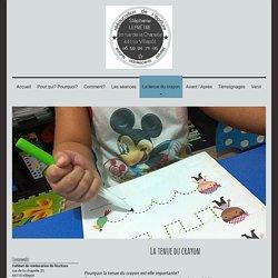 Cabinet de rééducation de l'écriture - La tenue du crayon