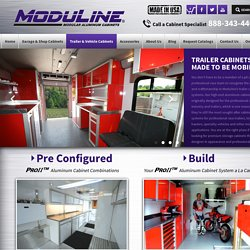 Get an Enclosed Aluminum Trailer Cabinets For Your Vehicle