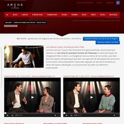 Cabinets Publics de l'Arche - Kevin Finel - Arche Hypnose