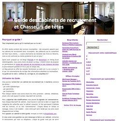 Guide des Cabinets de Recrutement et Chasseurs de têtes