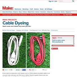 Cable Dyeing