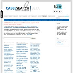 CableSearch BETA