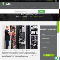 Data Cabling Services and Cable Installation